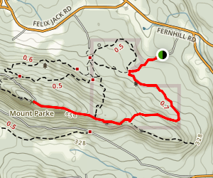 Mount Parke Trail Map