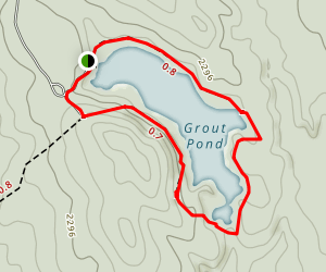 Grout Pond Trail Map
