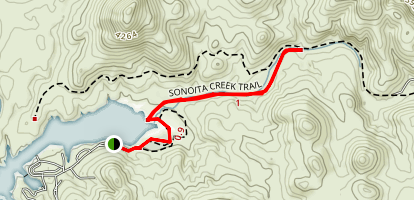 Sonoita Creek Trail Map