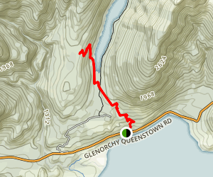 Lake Dispute Walkway Trail Map