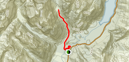 Mistake Creek Track Map