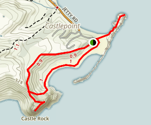 Castlepoint Track Map