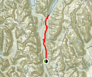 Hollyford Track Map