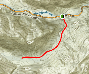 Falls Creek Route Map