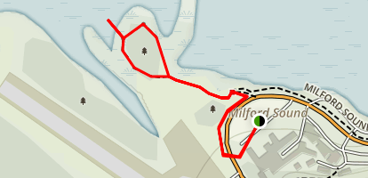 Milford Foreshore Walk Map