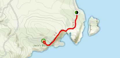 Jack's Blowhole Map