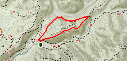 Five Mile Loop Map