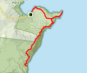 Mount Fortescue Track Map