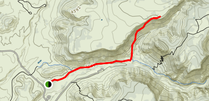 White Mesa Trail Map