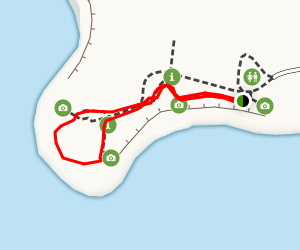 Waipapa Lighthouse Trail Map