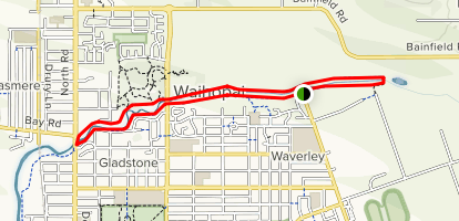 Waihopa River Walkway Map