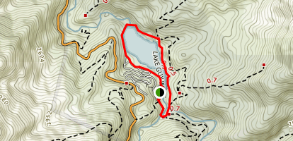 Lake Guy Walk Map