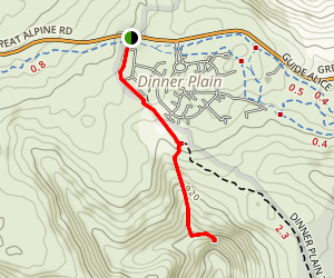 Carmichael Falls Trail Map