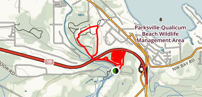 Top Bridge Mountain Bike Park Map