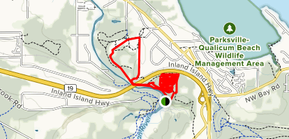 Top Bridge Mountain Bike Park (CLOSED) Map