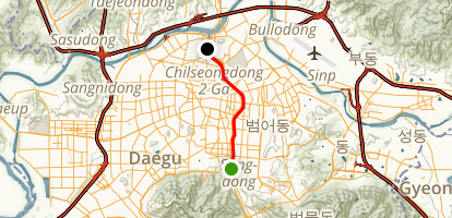 Sincheon River Trail Map