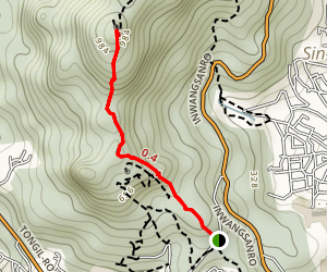 Inwangsan Mountain Map