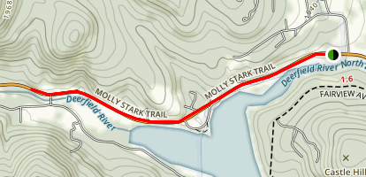 Molly Stark Scenic Trail Map