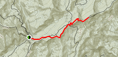 Tray Mountain Trail Map