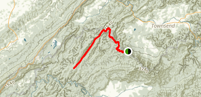 Beard Cane Trail Map