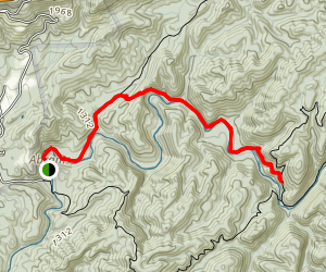 Little Bottoms Trail Map
