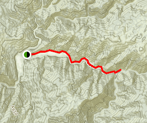 Kelly Creek Map