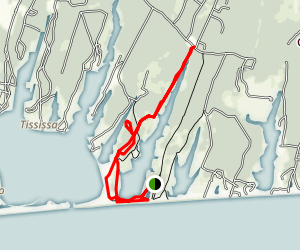 Long Point Wildlife Refuge Trail Map