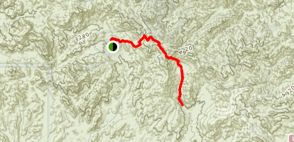 Montana Mountain Trail Map