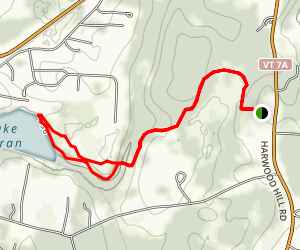 Paran-Frost Trail Map