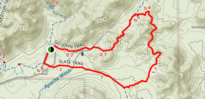 Quartz Trail Loop Map