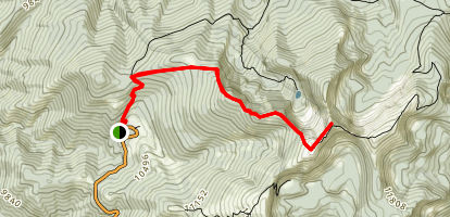 Lake Peak Trail Map