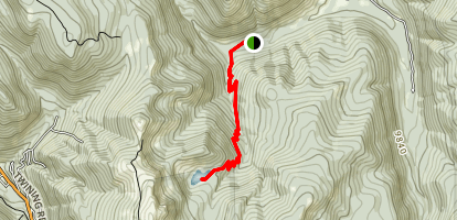 Middle Fork Lake Trail Map