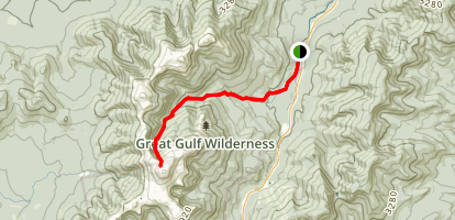 Great Gulf Trail Map