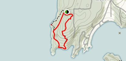 Obstruction Pass Trail Map