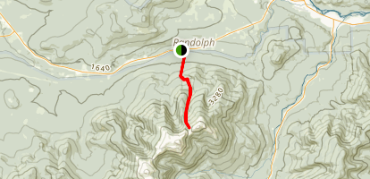 Valley Way Trail Map
