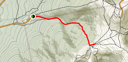 Lakes of the Clouds Trail Map