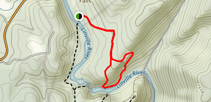 Linville Falls - Plunge Basin Trail Map