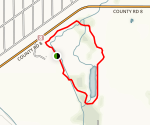 Cobus Creek Outer Loop Trail Map