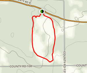 Bonneyville Mill South Loop Trail Map