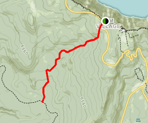 Dutton Creek Trail Map