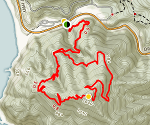 Humbug Mountain Trail Map