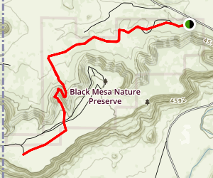 Oklahoma High Point - Black Mesa Map