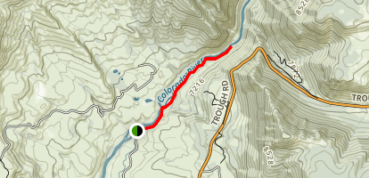 Gore Canyon Trail Map