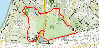 Presidio Loop Trail Map