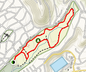 The Monk's Trail Map