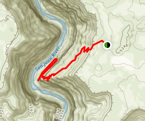 Honaker Trail Map