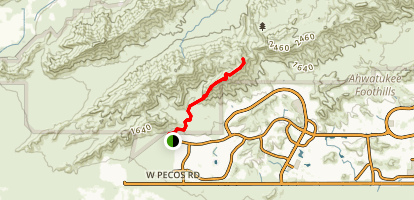 South Mountain Pyramid Trail Map