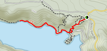 Gross North Shore Trail Map