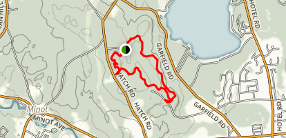 Mount Apatite Blue Loop Trail Map