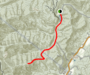 Little Hogpen Run Map
